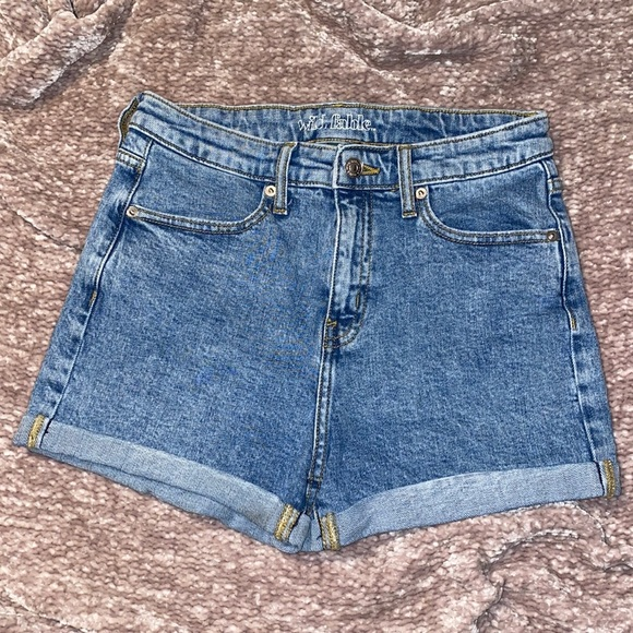 WildFable Denim Shorts